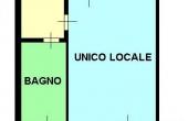 015/1 - PAVIA - monolocale - € 58.000