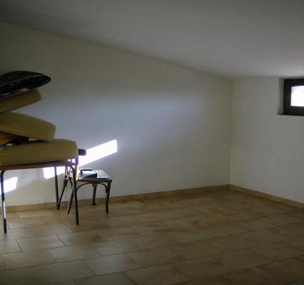 Camera mansardata - vista 1